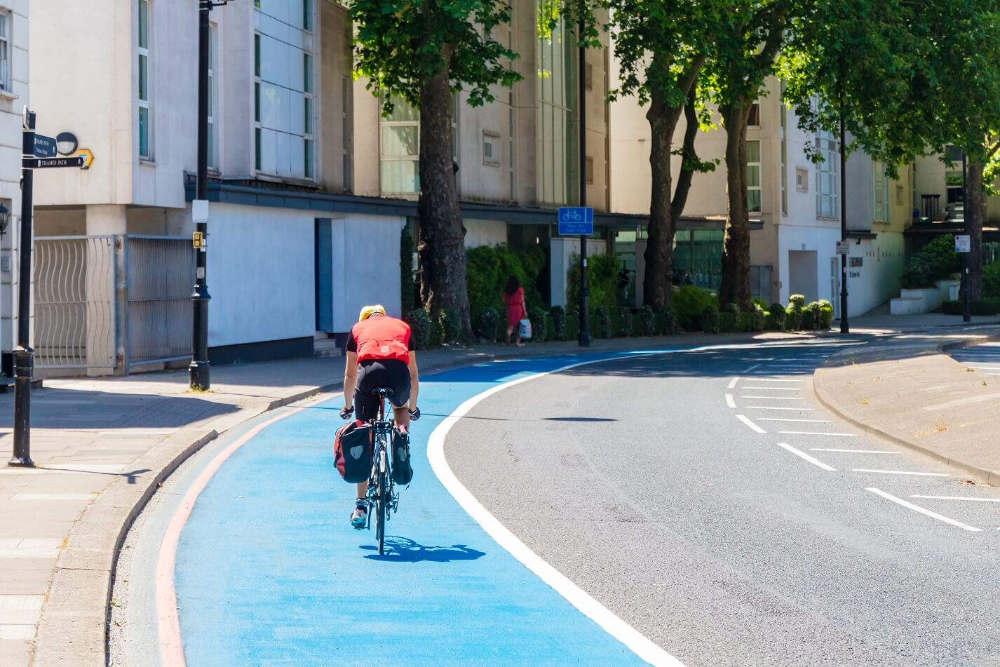 Safer journeys for cyclists and pedestrians thanks to Highways England scheme