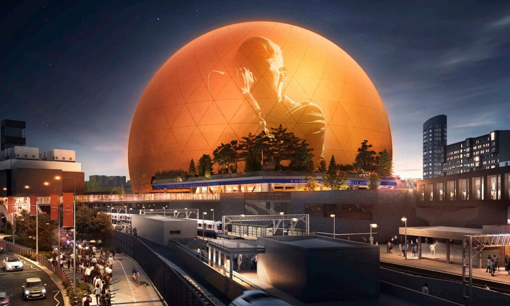 Like Piccadilly Circus, but spherical: is east London ready for the MSG Sphere?
